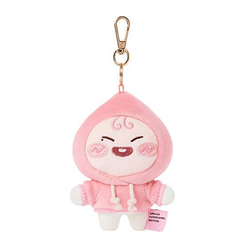 KAKAO FRIENDS Official- Apeach KangDaniel Edition Soft Plush Keyring Keychain (Wink Apeach)