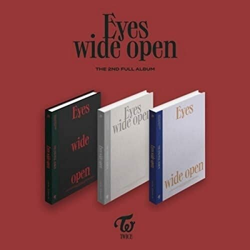 Eyes Wide Open (Random Cover) (incl. 88pg Photobook, Message Card,Lyric Folded Poster, DIY Sticker + 5pc Photocard)