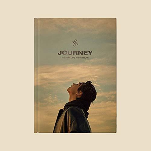 HENRY [ JOURNEY ] 3rd Mini Album. 1ea CD+1p POSTER+64p Photo Book+1ea Photo Card+1ea Post Card+1ea Stamp Sticker+TRACKING CODE K-POP SEALED