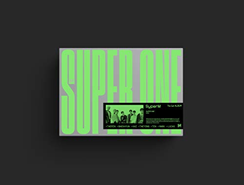 SuperM The 1st Album 'Super One' [One Ver.]