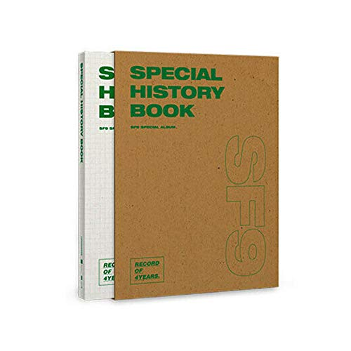 SF9 [SPECIAL HISTORY BOOK] SPECIAL ALBUM 1ea CD+128p Photo Book+3ea Photo Card+TRACKING CODE K-POP SEALED