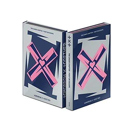 TXT Album - Chaos Chapter : FIGHT OR ESCAPE (Random Ver.) Album + Folded poster