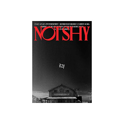 ITZY Not Shy Album Set (A,B,C Versions) (Incl. Pre-Order Benefits : Tatoo Sticker, Postcard Set, Folded Poster, Seller Gift : Random Acrylic Photocard Set)