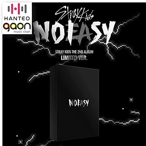 Stray Kids - NOEASY [Limited Ver.] (2nd Album) Album+CultureKorean Gift(Decorative Stickers, Photocards)