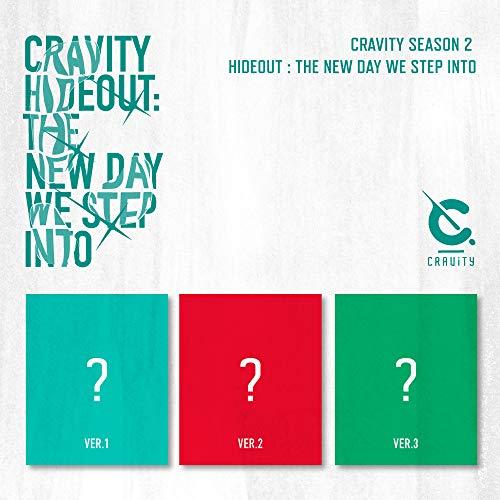 Cravity Season 2. Hideout : The New Day We Step Into (Random Cover)(incl.4-Cut Photocard, Polaroid Photocard + Sticker)