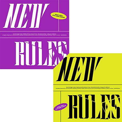 WEKI MEKI [NEW RULES] 4th Mini Album [BREAK / TAKE] RANDOM VER. 1ea CD+72p Photo Book+1ea Tag Card+1ea Photo Card+TRACKING CODE K-POP SEALED