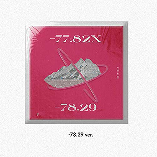 EVERGLOW [-77.82X-78.29] 2nd Mini Album -78.29 VER. 1ea CD+1p POSTER+80p Photo Book+16p Booklet+1ea Pop-up Card+TRACKING CODE K-POP SEALED