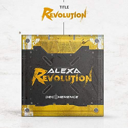 ALEXA [DECOHERENCE] EP Album. 1ea CD+68p Photo Book+16p Concept Book+3ea Photo Card+TRACKING CODE K-POP SEALED
