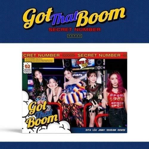 Got That Boom (incl. 64pg Photobook, 2pc Photocard, Postcard, Cartoon Card + Photo Stand)