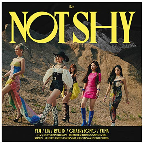Itzy - Not Shy Album [A ver.] [Pre Order] CD+Photobook+Folded Poster+Pre Order Benefit+Others with Extra Decorative Sticker Set, Photocard Set