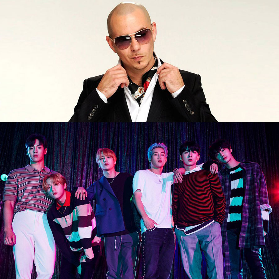 Monsta X Pitbull Collaboration, 5 Things You Should Know